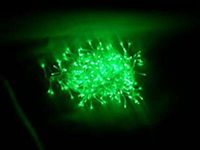 Светодиодная гирлянда зеленого цвета