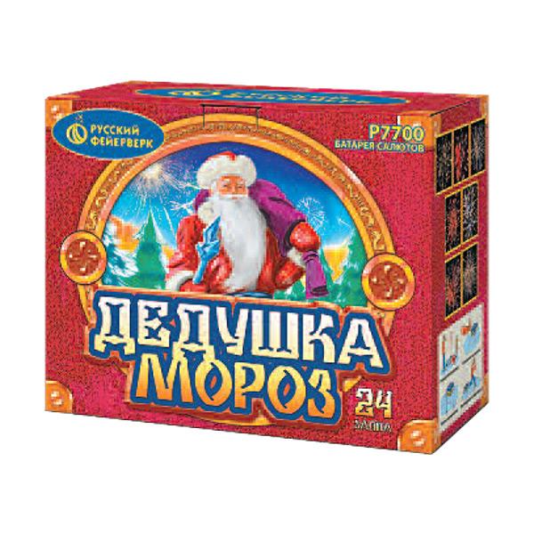 Батарея салютов P7700 Дедушка Мороз
