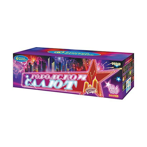 Батарея салютов Р8360 Городской салют