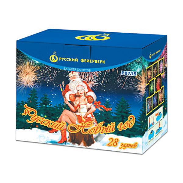 Батарея салютов P8715 Русский Новый год