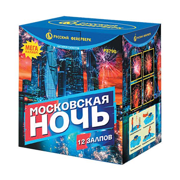 Батарея салютов P8790 Московская ночь
